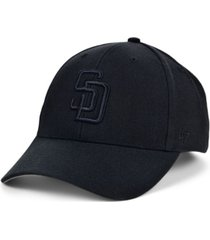 '47 brand san diego padres black black mvp cap