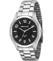 relógio seculus 28884g0svna1kz masculino