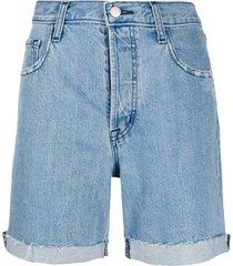 j brand casual denim shorts - blue