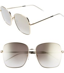 women's tommy hilfiger 58mm gradient square sunglasses -