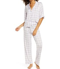 women's bp. sleepy head pajamas, size small - purple