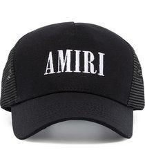 amiri core logo-embroidered baseball cap - black