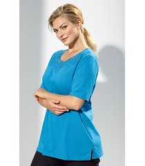 shirt m. collection blauw