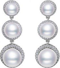 kolczyki classic pearl drop