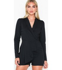 nly trend frilly blazer playsuit playsuits