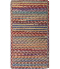 capel area rug, american legacy rectangle braid 0210-950 primary multi 7' x 9'