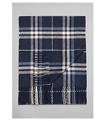 jos. a. bank plaid cashmere scarf
