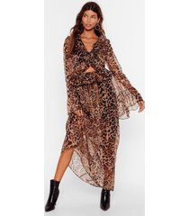 womens purr-fect timing cut-out maxi dress - brown