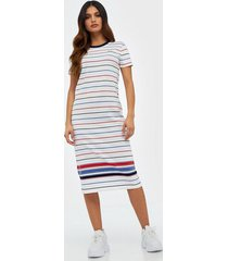 polo ralph lauren striped jersey dress fodralklänningar