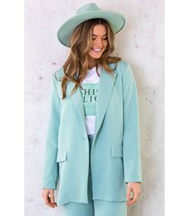 ultra oversized blazer mint