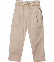 brunello cucinelli gathered waist trousers