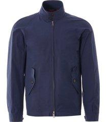 baracuta g4 slim fit harrington jacket | navy | 7fbc02nv