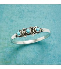 touches of turquoise ring
