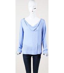 cowl neck blouse