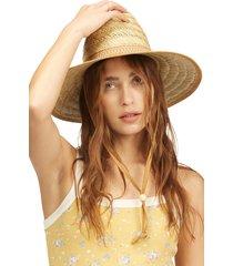 billabong x wrangler dude ranch straw hat in natural at nordstrom