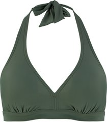 reggiseno per bikini con scollo all''americana (verde) - bpc bonprix collection