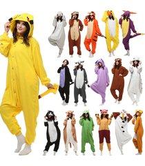 50 model onesie pyjama kostüme kigurumi schlafanzug erwachsene unisex tieroutfit