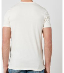 ps paul smith men's cotton crew neck t-shirt - off white - xl
