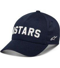 gorro applied hat azul alpinestars