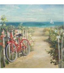 "danhui nai summer ride crop bike canvas art - 15.5"" x 21"""