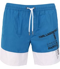 karl lagerfeld swim trunks