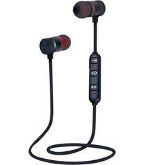 audifonos deportivos magnéticos color negro