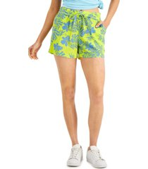 style & co drawstring shorts, created for macy's