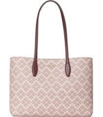 kate spade new york spade flower coated canvas all day large tote