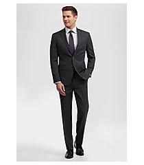 travel tech slim fit plaid men's suit by jos. a. bank