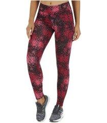 calça legging oxer mundi - feminina - vinho/rosa