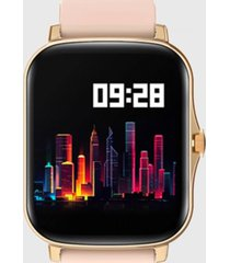 reloj smartwatch kei mia dorado silicona keiphone