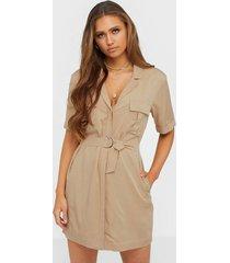 nly trend safari shift dress loose fit dresses