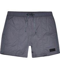 river island mens grey swim shorts