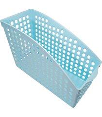 cesta organizadora thata esportes multiuso porta treco armário geladeira despensa azul