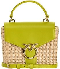 love mini top handle midollino bag