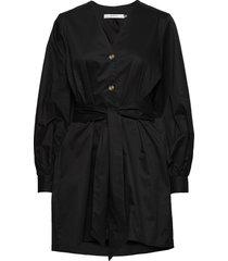 alvagz v-long shirt ms20 korte jurk zwart gestuz