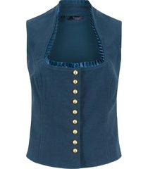 gilet bavarese (blu) - bpc bonprix collection