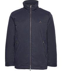 d1. midlength jacket dun jack blauw gant