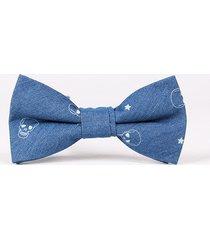 cravatta fredda del partito di affari della cravatta di bowknot del cotone del vento del retro degli uomini