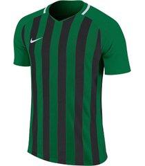 camiseta de hombre m nk strp dvsn iii jsy ss nike verde