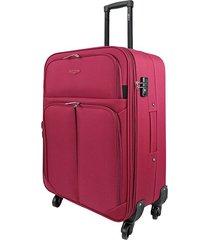 """maleta de viaje mediana speed 26""""  rojo - explora"""