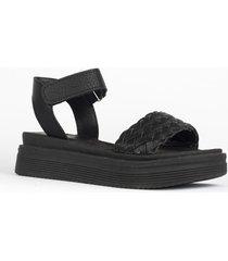 sandalia negra heyas daniela13