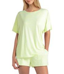 studio women's short sleeves pullover tee