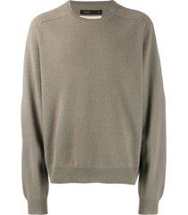 frenckenberger boyfriend sweatshirt - neutrals