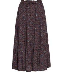 evelyn skirt knälång kjol brun lexington clothing