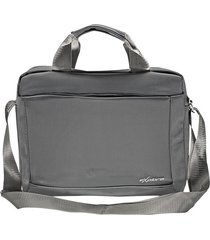 maletín para hombre porta tablet 189 gris -  explora