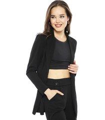 blazer jacqueline de yong geggo negro - calce regular