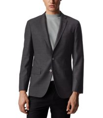 boss men's hartlay single-breasted jacket