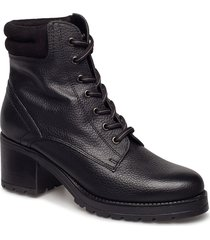 eterassi shoes boots ankle boots ankle boots with heel svart aldo