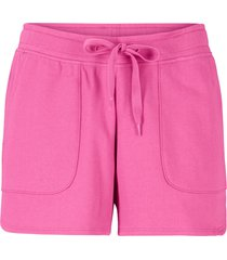 shorts in felpa con coulisse (fucsia) - bpc bonprix collection